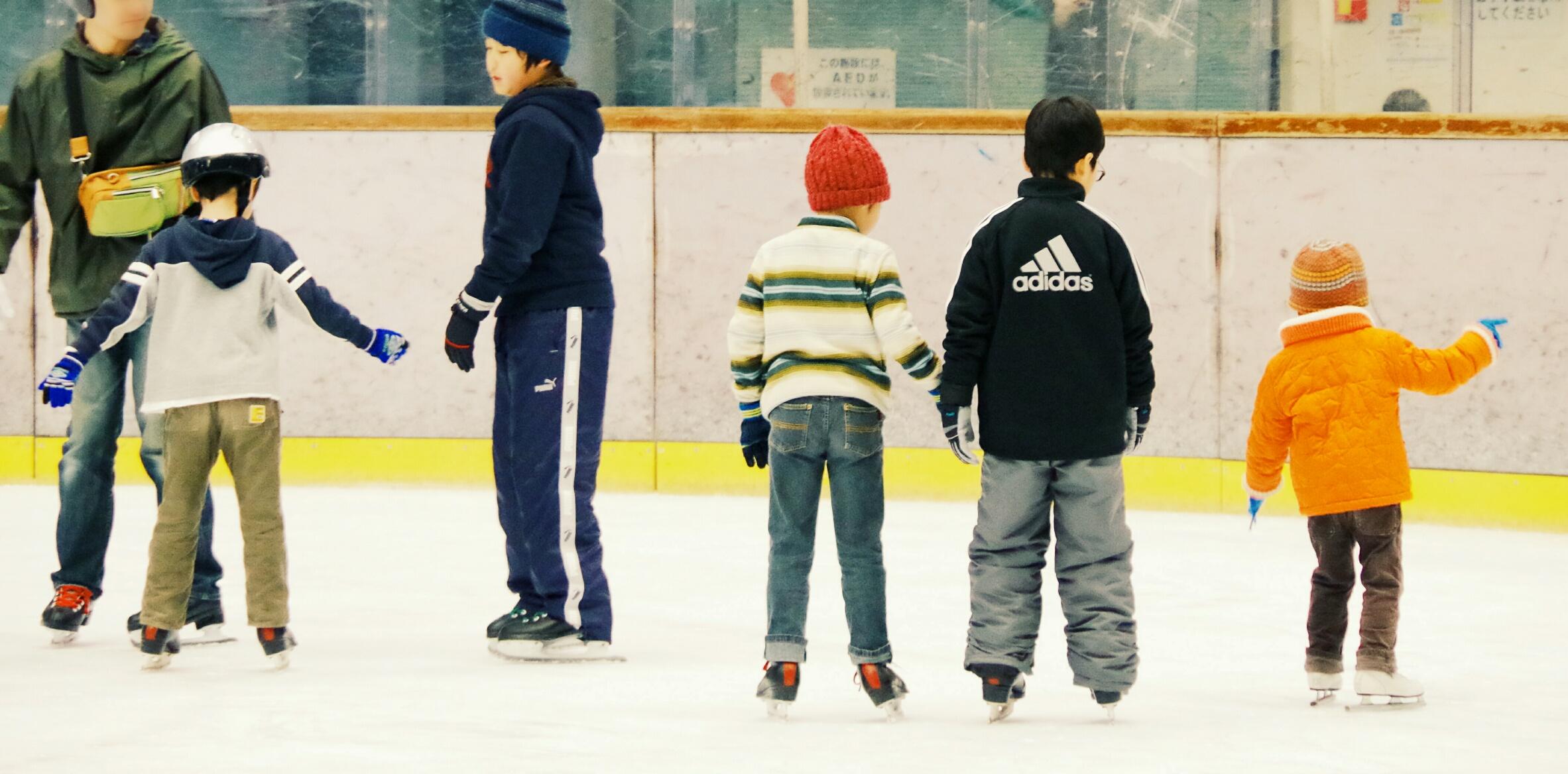スケートの写真